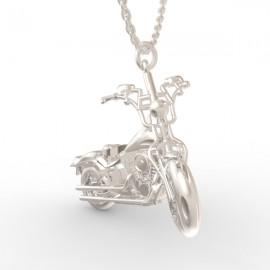 Pendentif Harley Davidson  in sterling silver 0.925
