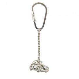 VW Beetle pendant in sterling silver 0.925